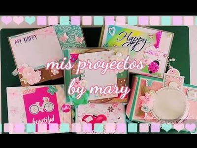 Mis proyectos scraperos mini album by mary