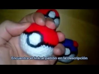 Patrón de Pokeball (free Pokemon pattern) Amigurumi