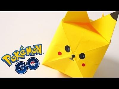 Pokémon Go   Pikachu de Origami Fácil y Bonito