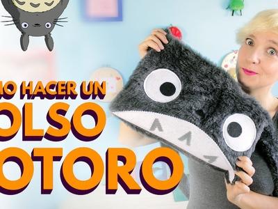 Regreso a clases: Cómo hacer bolsos de tela de Totoro ♥ (mochila bandolera o messenger bag)