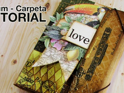 Tutorial: Álbum Carpeta. Folio Folder Album