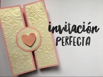 TUTORIAL Invitación Perfecta Boda.XV Años.Baby Shower