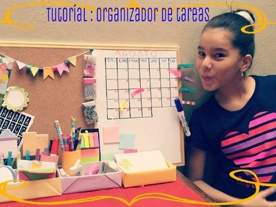TUTORIAL. ORGANIZADOR DE TAREAS. NatalyPop