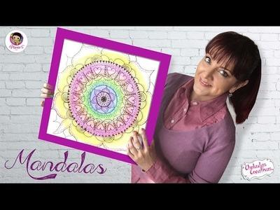 Como dibujar Mandalas :: Chuladas Creativas