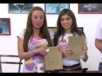 Como hacer Cuadernos con Cajas de Cereales Reciclables - Hogar Tv  por Juan Gonzalo Angel
