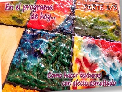 COMO HACER TEXTURAS CON EFECTO ESMALTADO 1.3