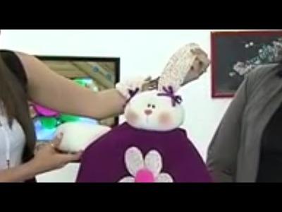 Como hacer uan Muñeca - Coneja en Pijama- Hogar Tv  por Juan Gonzalo Angel