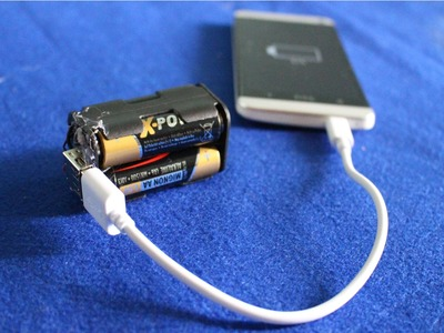 Cómo hacer una batería externa | barato y sencillo
