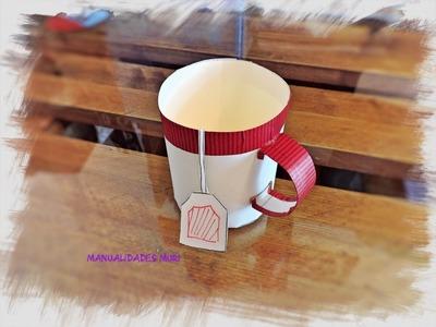 Cómo hacer una Taza de Té para Regalar