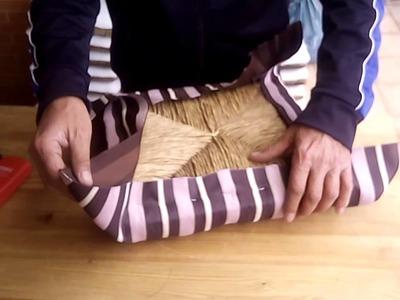 Cómo tapizar una silla en 5 minutos.