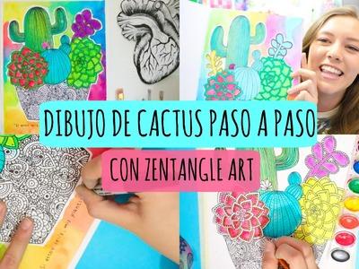 Dibuja Plantitas.Cactus conmigo! | Dani Hoyos Art