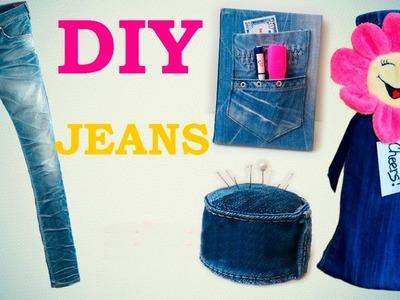 DIY: 8 Creativas Formas de Reciclar Viejos Pantalones Vaqueros