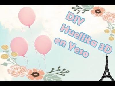 DIY: Huellita 3D de mi bebé | Especial Día del Padre