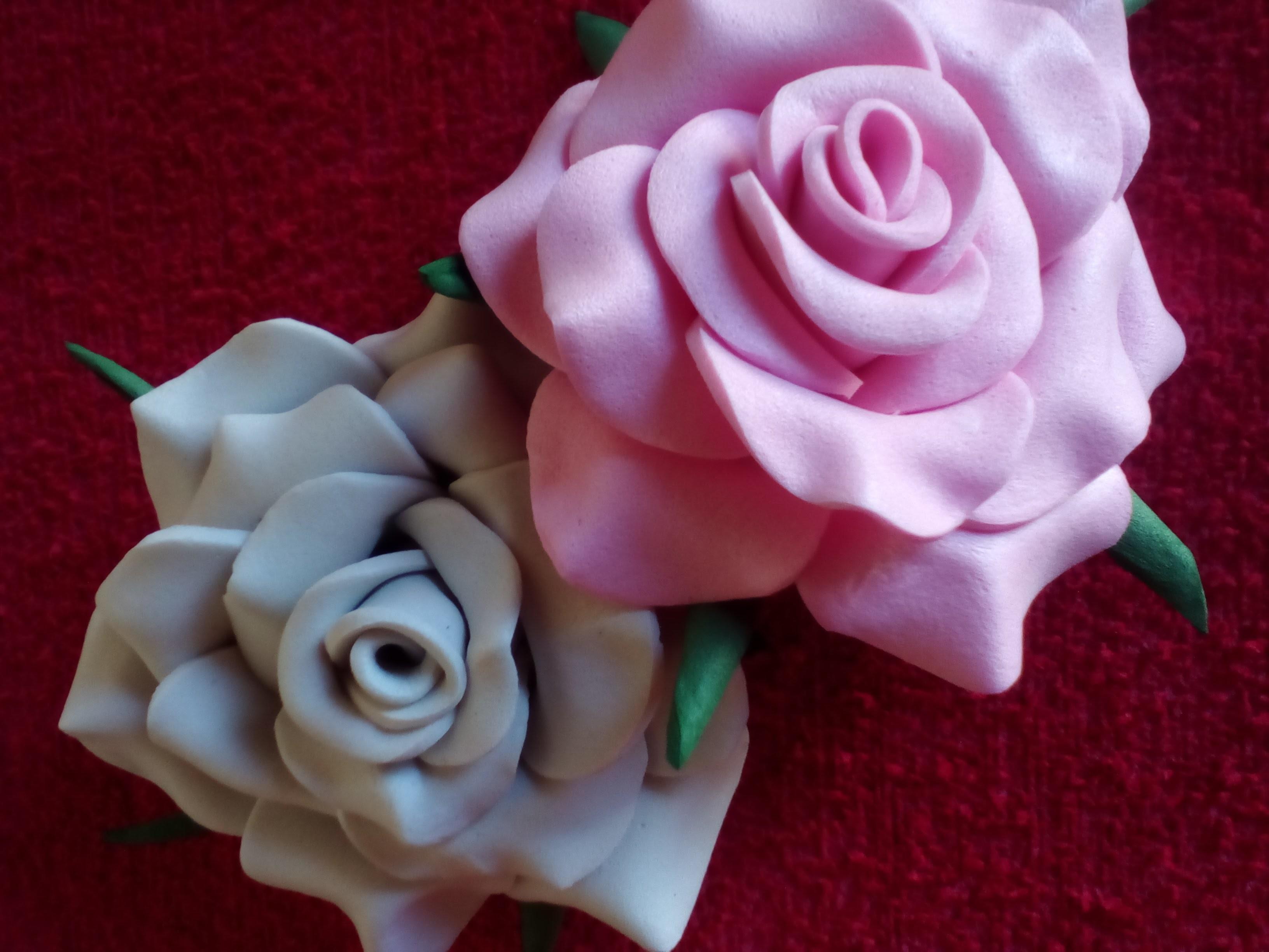 rosas flores de goma eva rosa facil rosas mini de