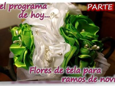 FLORES DE TELA PARA RAMOS DE NOVIA 3.3