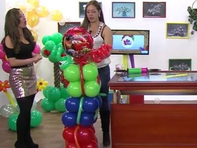 Globoflexia- Como hacer una Columna de Globos para Fiestas- Hogar Tv  por Juan Gonzalo Angel