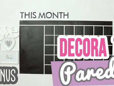 ¡Decora tu Pared 2 Video Extra! ♥ |  ✄ ¡Ideas para decorar y renovar tu cuarto! | Catwalk ❤