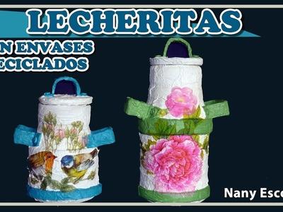 LECHERITAS CON ENVASES RECICLADOS