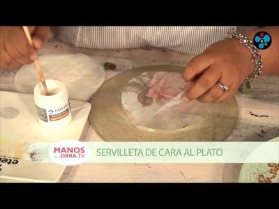 Plato Antiguo | Sonia Nuñez en Manos a la Obra