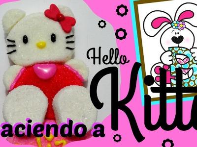 Como hacer a Kitty de Bombón - How to make a Marshmallow Kitty
