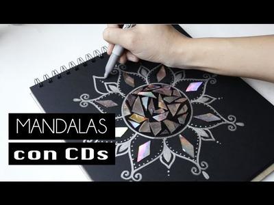 Mandalas con Cds - DIY