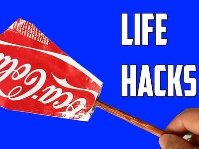 3 cosas locas se pueden hacer con latas de aluminio - hacks vida