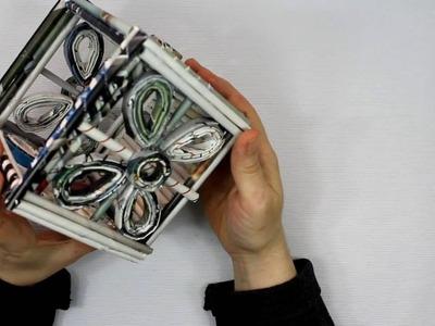 Cesta de papel de revista