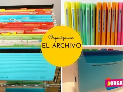 Cómo organizar tu Archivo (AorganiZarte)