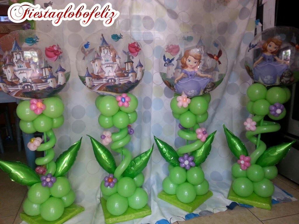 Como hacer un hermoso centro de mesa con globos