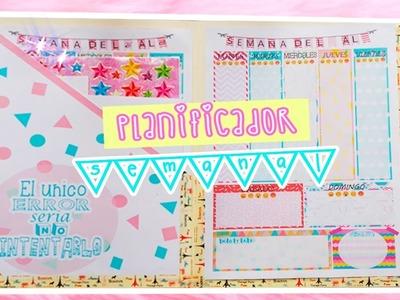 DIY planificador semanal. agenda para descargar ♥