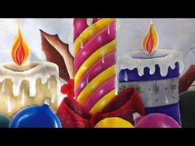 Pintura en tela esferas # 6 con cony