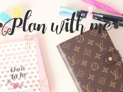Planea conmigo una semana - Agenda y Bullet Journal | styleandpaper
