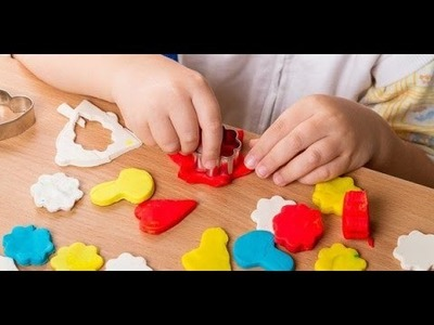 Cómo hacer plástilina  oh masilla casera para niños