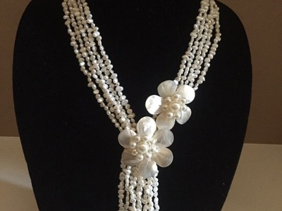Como Hacer un Collar de Perlas
