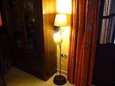 Como hacer una lámpara de pie por tarusdy. brico