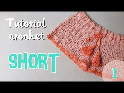 Como tejer un short para mujer a crochet (1.2)