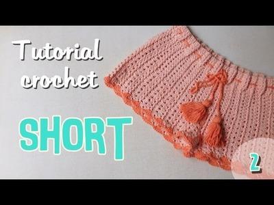 Como tejer un short para mujer a crochet (2.2)