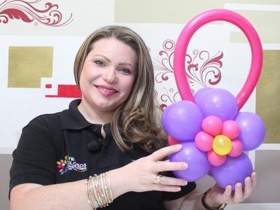 Curso  de Globos Aprenda hacer una Cartera en Globos. Animadoras Balloons Wallet