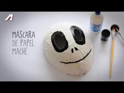 Hazlo con Artesco - Máscara de Papel Maché