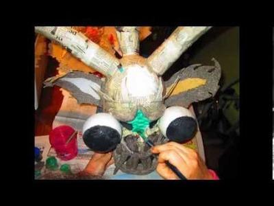 Mascara de la Tirana
