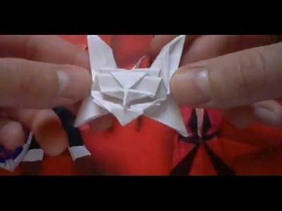 Origami Máscara de Hombre 1