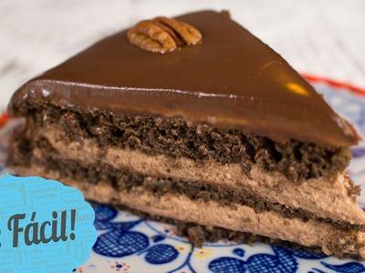 Pastel De Chocolate Sin Horno | Que Fácil!