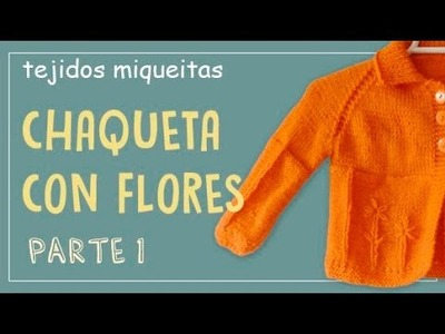 Tutorial para hacer chaqueta con flores (parte 1)