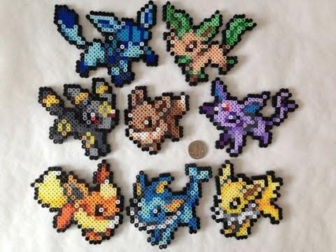 151 Pokemon en Hama.Perler Beads (1° Gen) | Plantilla,Diseño,Sprite de Pokemon