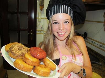 Cómo hacer donuts paso a paso