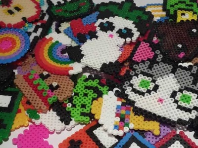 ☆ Mis CREACIONES de Hama Beads. Perler Beads Creations ☆