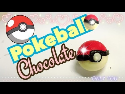 Pokemon Como Hacer POKEBOLAS de chocolate con sorpresa dentro!