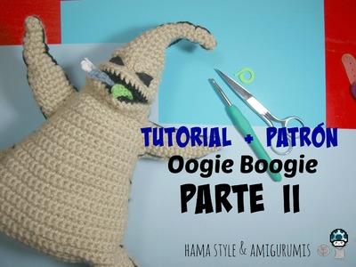 [TUTORIAL + PATRÓN] Oogie Boogie amigurumi de Pesadilla antes de Navidad - PARTE II