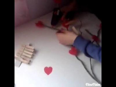 CÓMO HACER UN ÁRBOL DE CORAZONES (DIY)