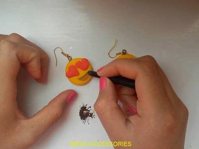 DIY! Aretes de Emojis